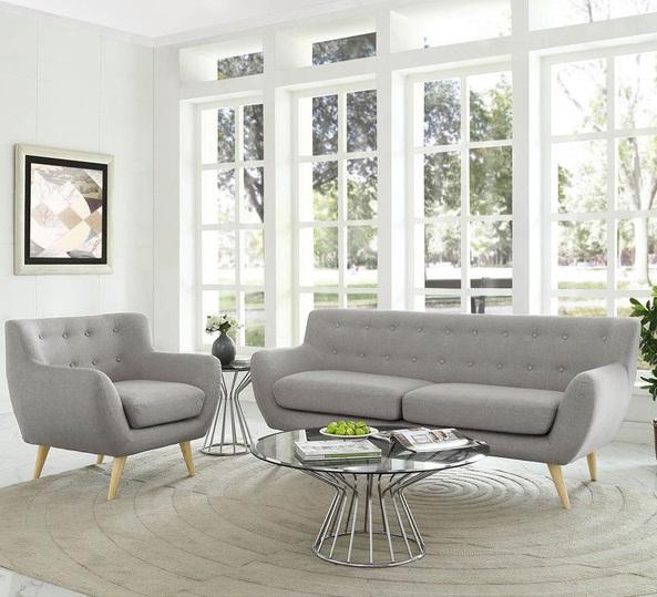 Remark sofa không gian phòng khách