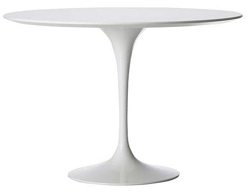 TULIP TABLE Designed by  Eero Saarinen, 1956 D800 x H740  mm MDF painted, Alu base. Price: 6.660.000 VND