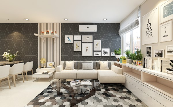 Phòng khách theo phong cách đương đại - Contemporary Style