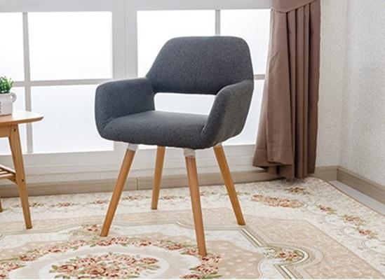 VITRA ARMCHAIR - DAW  Fabric Colour: Grey, Denim, Red, Green, Beige, Brown 560 x 570 x 790 mm Price: 1.290.000 VND