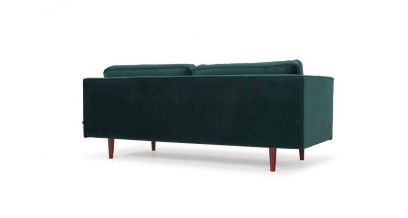 PMH Sofa 2m2 Hight 830mm, Width 2200mm, Depth 940mm Seat depth 560mm, Inside width 1860mm, Seat hight 370mm, Legs 190mm Co May Fabric